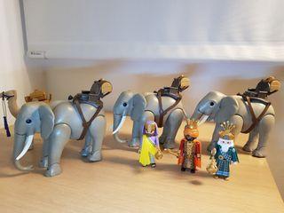 Elefantes y reyes magos. Belén/Nacimiento