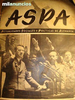 vendo revista ASPA, nº 110, 31/12/1941
