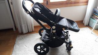 carrito de bebe + maxi cosi + accesorios