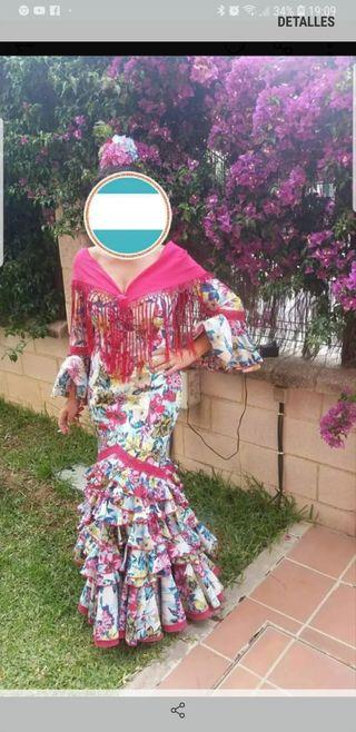 Traje de flamencas