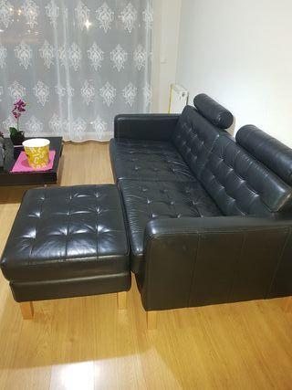 Sofá 4 plazas IKEA + Soporte