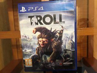 Juego Troll PS4 Blu-Ray