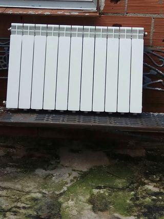 6 radiador de calefacción de agua