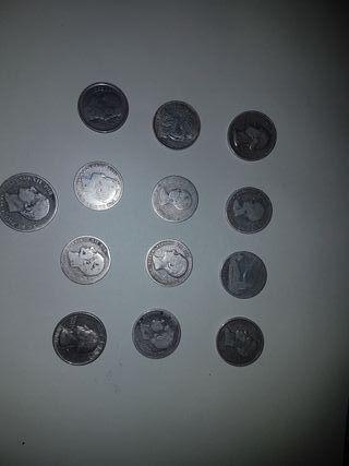 monedas de (plata)