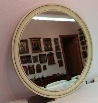 Espejo de estilo Luís XV