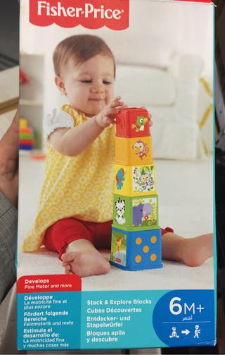 Bloques apila y descubre Fisher price