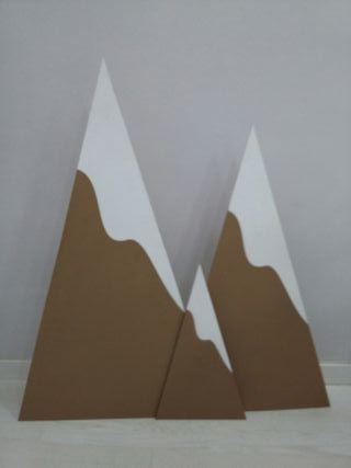 Montañas madera