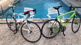 2 bicicletas de carretera