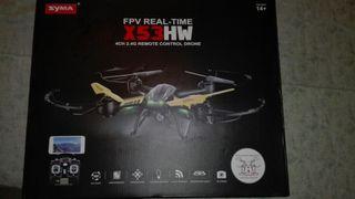 Drone syma con gafas muy poco uso