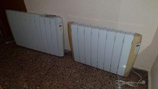 2 Radiadores calor azul