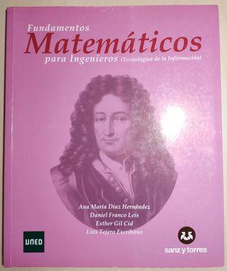 Libro FUNDAMENTOS MATEMÁTICOS PARA INGENIEROS UNED