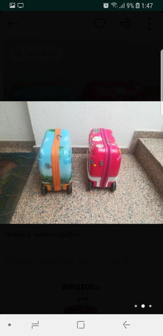 maleta / correpasillos