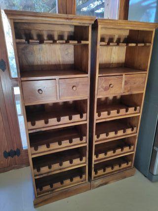 Mueble para Bodega de vino.