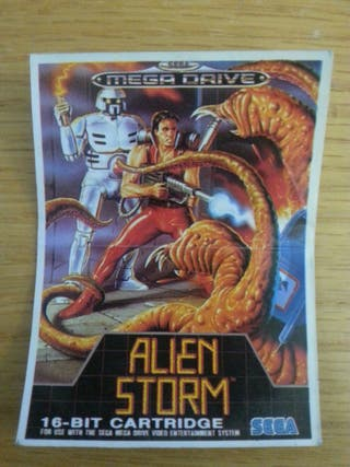 cromo bollycao sega alien storm