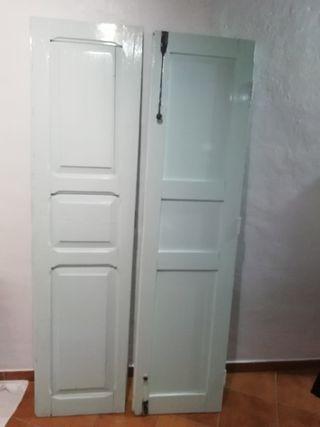 puertas antiguas alto 1.97 ancho 50cm