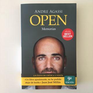 Libro Andre Agassi Open Memorias