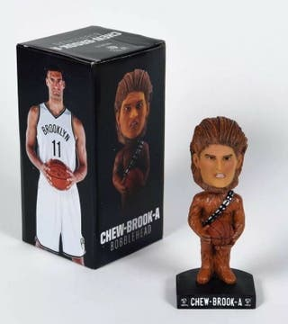 Figura NBA Coleccionista. Chew - Brook - A (NETS)