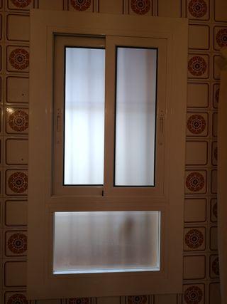 ventana de aluminio segunda mano pero está nuevo