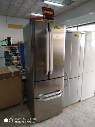 frigorifico hotpoin inox