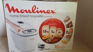 Panificadora Moulinex baguette 1,5 kg