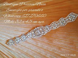 Cinturón para vestido de novia ,invitada Nueva !