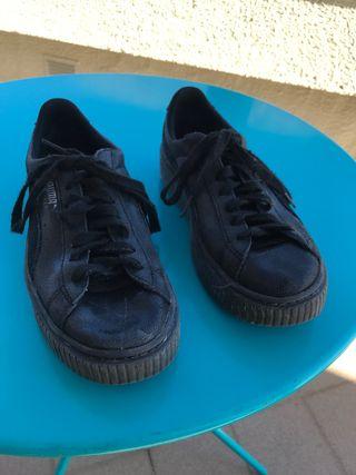 9ec15b56a Zapatillas Puma Mujer de segunda mano en Barcelona en WALLAPOP