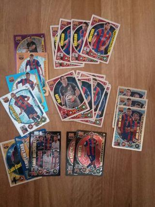 Cromos liga F.C.Barcelona