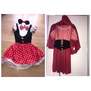 Disfraz de Capelucita Roja y Mini
