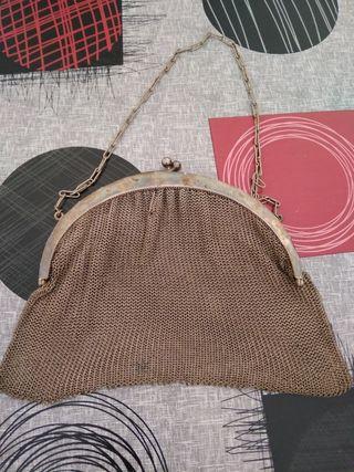 bolso vintage plata autentica años 20