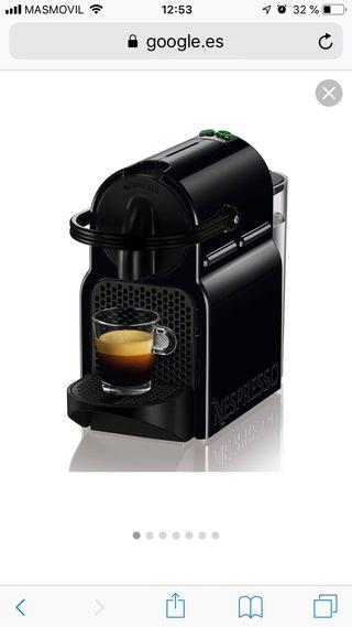 Cafetera Nespresso Delonghi Inissia,como nueva