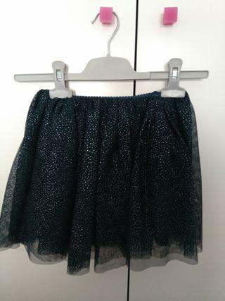 20309ebd5 Falda de tul azul de segunda mano en Valencia en WALLAPOP