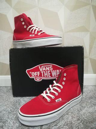 Zapatillas Vans altas