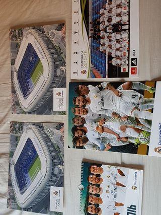 postales nuevas del Real Madrid cf oficial