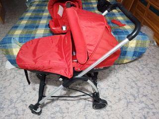 Carrito de bebé más asiento para coche