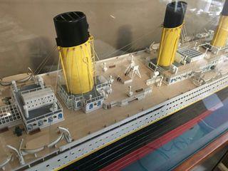 maqueta titanic amati