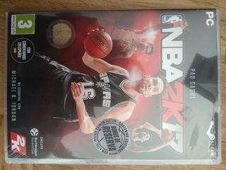 Videojuego NBA 2K17 NUEVO