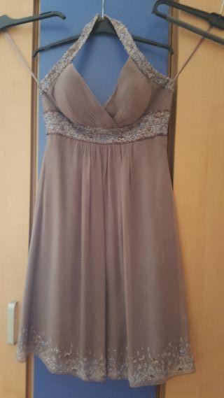 vestido corto cóctel talla 38