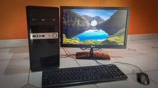 CHOLLO PC COMPLETO21,5pulg!8GB con disco Duro500GB