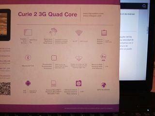 tablet bq curie2 quad core 3G