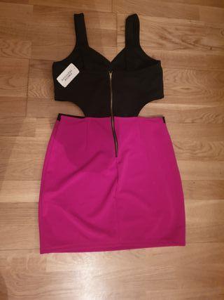 vestido con etiqueta talla 38-40