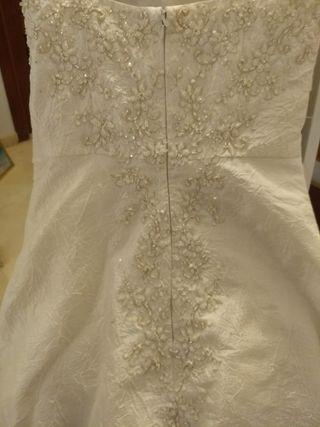 Vestido de novia estilo rosa clara
