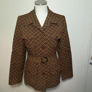 chaqueta vintage años 70