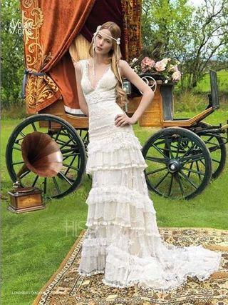 Vestido de novia Yolan Cris. Modelo Londres