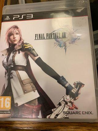 Final Fantasy Xiii 13 - Ps3 Playstation 3 Pal Esp