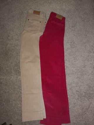 pantalones NECK&NECK 12 y 8 años
