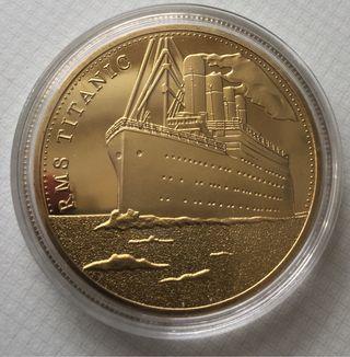 Moneda conmemorativa Titanic