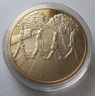 Moneda Conmemorativa Los Beatles