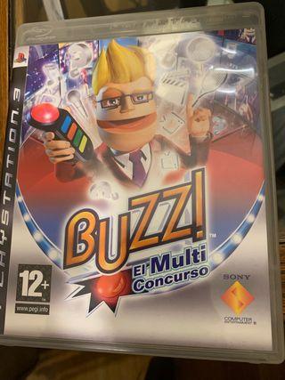 BUZZ! EL MULTICONCURSO ps3