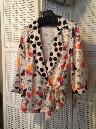 Blusa/chaqueta
