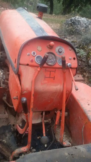 Tractor oruga cadenas fiat 451c montaña